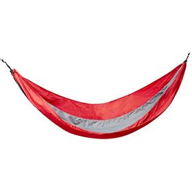 CAMPZ Hamaca Nylon Ultraligero, rojo/gris
